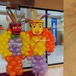 Balon dekorasi ondel-ondel