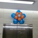 Balon dekorasi bunga dinding