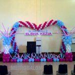 balon dekorasi backdrop 2