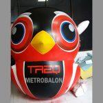 balon karakter burung