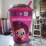 balon karakter cup