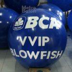 Balon Bulat BCA Diameter 1m