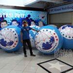 Balon Bulat Amuba 1.5m