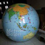 Balon Bulat Globe Diameter 2m